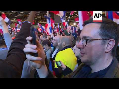 Supporter, analyst on Macron's first round win