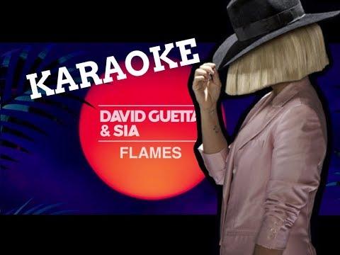 Flames / Karaoke - Sia & David Guetta