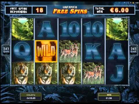 Untamed Bengal Tiger Casino 5 Reel