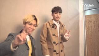 16N 아이비클럽- EXO 광고촬영 비하인드 영상