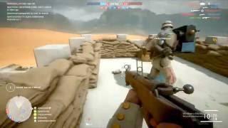Battlefield 1 #3 Sina Çölü Haritası Havadan Hepsini Geberttim