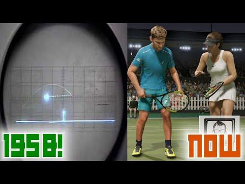The Evolution Of Tennis Games | Nostalgia Nerd