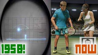 Tennis Game Evolution over 60 YEARS! | Nostalgia Nerd