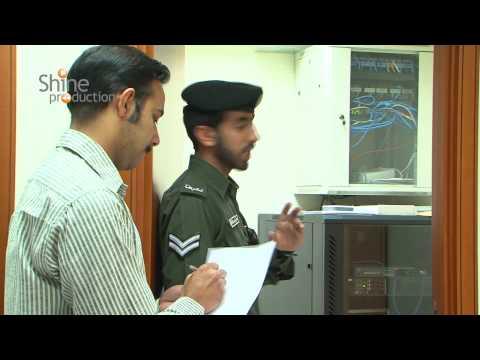 Abou Dhabi civil defense training campaign