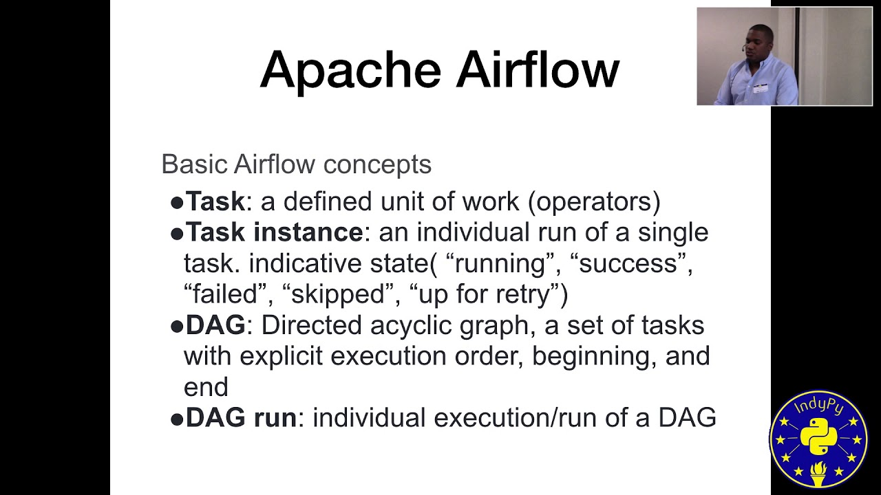 Image from Luther Hill: Use Apache-Airflow to Build Data Workflows | PyData Indy 2019