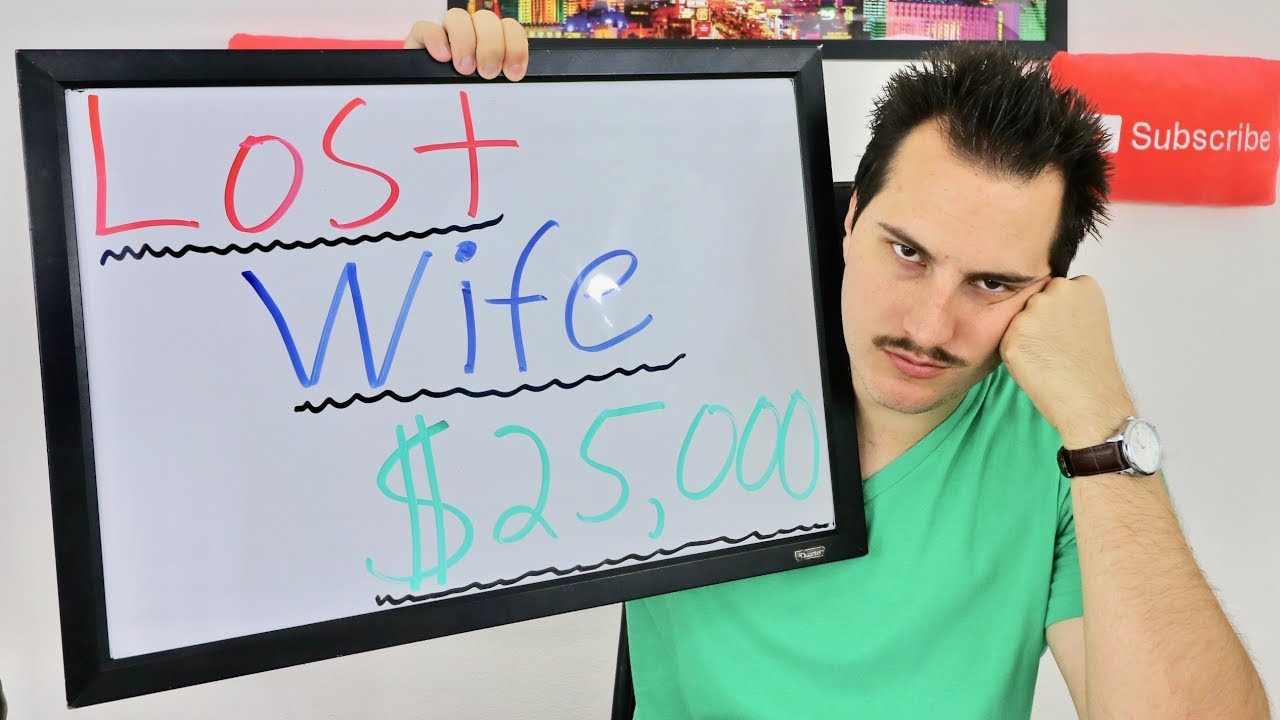 Lost My Wife 25,000 Stock Market Trading - Youtube-6155