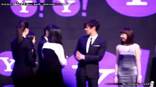 2012.12.17 Kim Hyun Joong - Yahoo! Buzz Awards @ Hong Kong