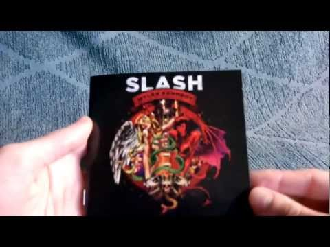 Slash Apocalyptic Love (South American Deluxe Edition) Unpackaging