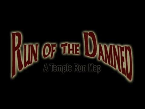 Final multiplayer beta test of Run of the Damned - Minecraft temple run map. Release this week