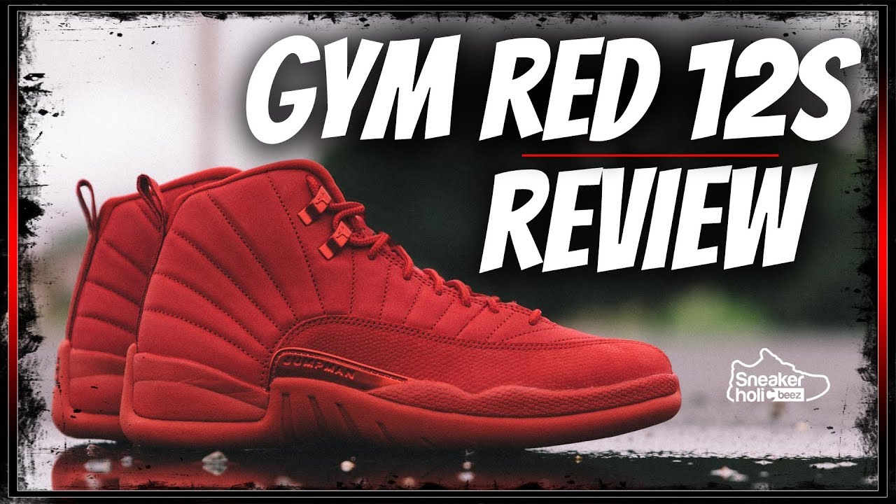 best service b7234 21f1c 2018 AIR JORDAN RETRO 12 GYM RED SNEAKER REVIEW | AIR JORDAN 12 BULLS | GYM  RED BLACK FRIDAY 12
