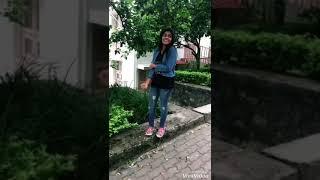 Adi un pola sivappu ila💘 tamil song #gowsalyaannamalaidubsmash❤️
