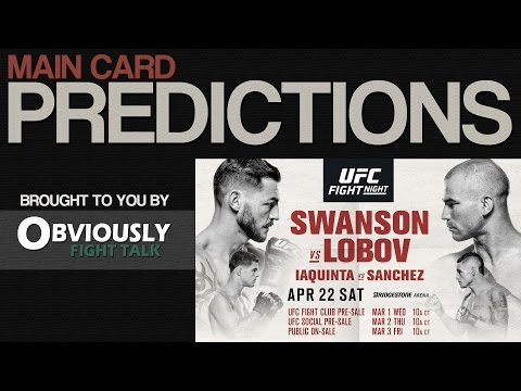 UFC Nashville: Swanson vs. Lobov Predictions & Preview