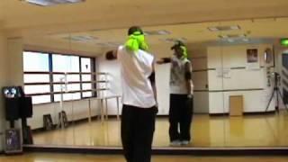 ヒップホップダンス コンビネーション   初心者 基本 HIPHOP dance lesson