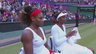Venus & Serena Williams Win Women's Doubles Semi-Final - London 2012 Olympics