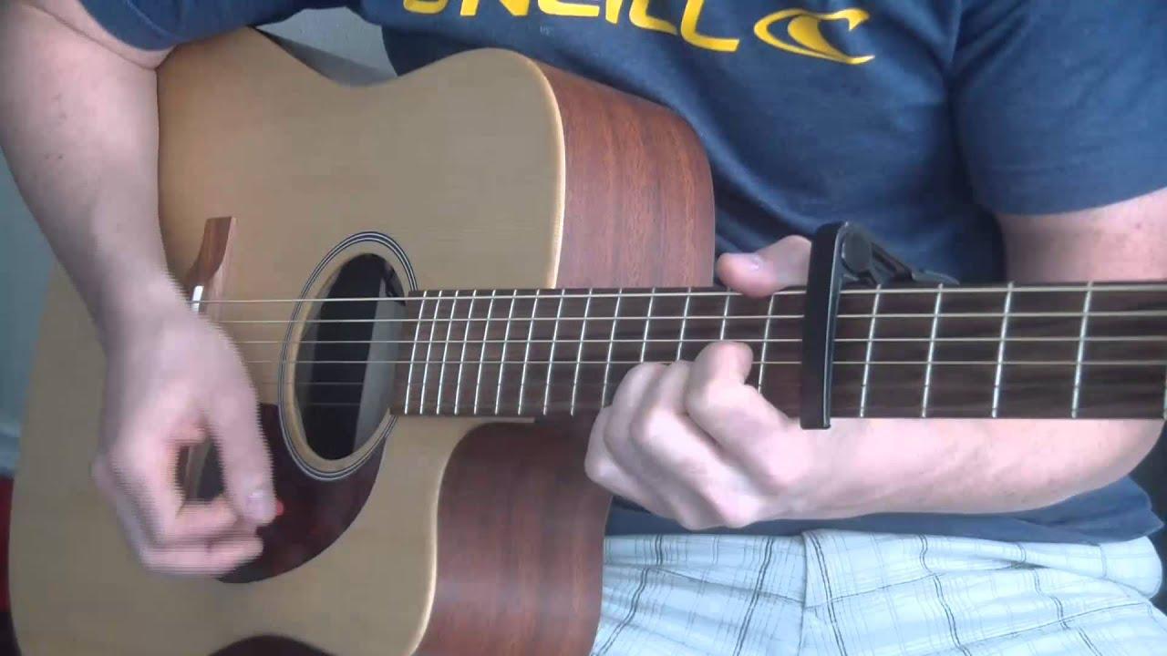 Sugarland Stuck Like Glue Super Easy Guitar Tutorial Youtube