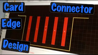 Creating Designing PCB Card Edge Connectors (Devices) in Eagle Software
