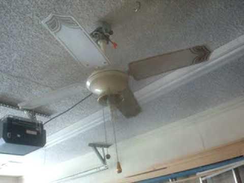 36 Quot Lasko 3600l Ceiling Fan Youtube