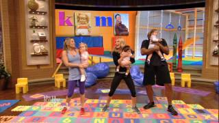"""Kelly and Michael's Fitness Challenge -- Baby Bootie Camp -- """"LIVE with Kelly and Michael"""""""