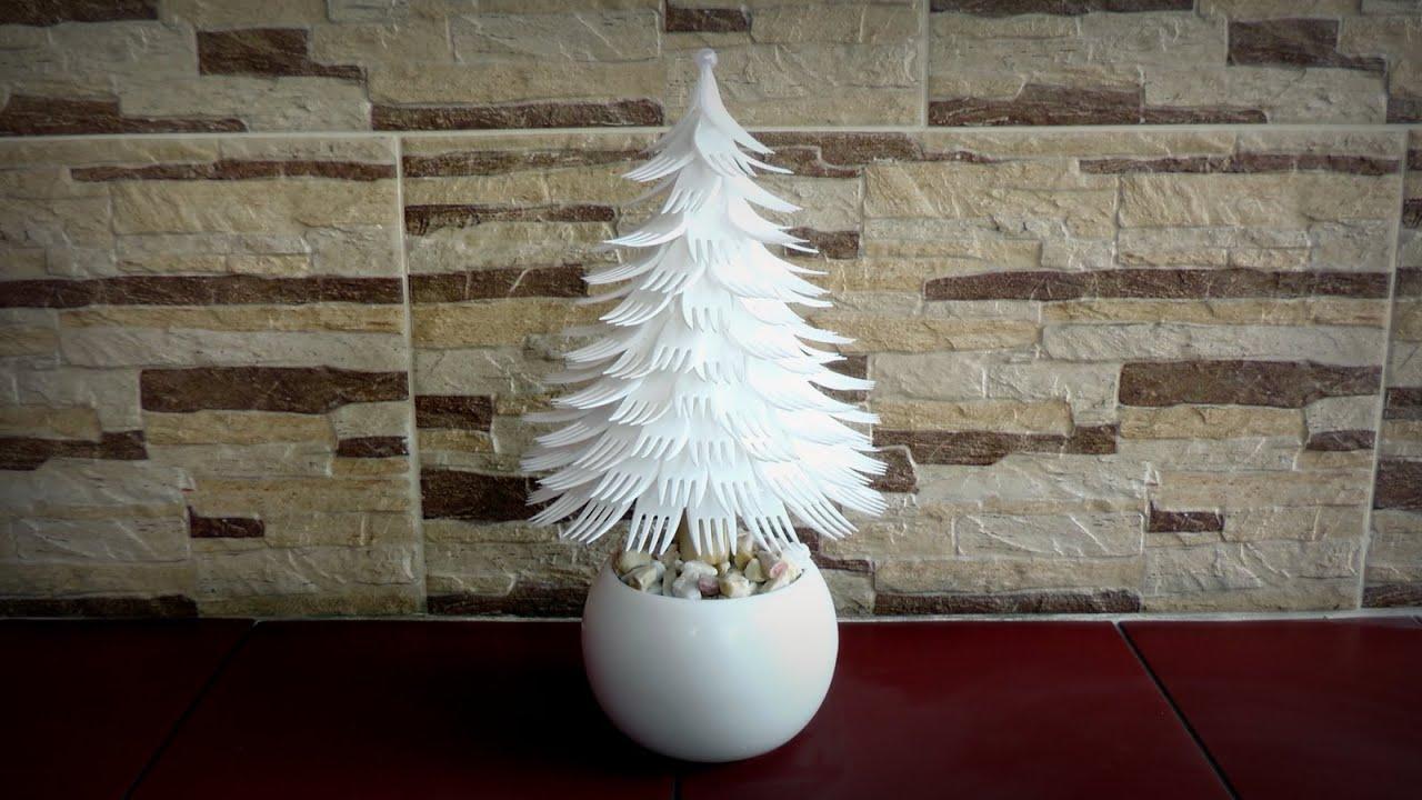 Christmas Tree Without Ornaments Choinka Z Widelc 243 W Youtube