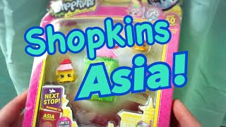 Shopkins World Vacation Asia Unboxing UNRELEASED