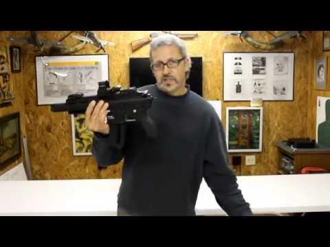 HK 416 AR pistol buffer tube adapter piece (Aarons Gun Shop)
