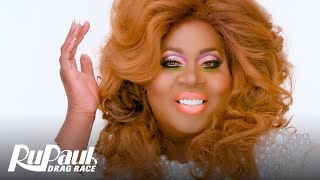 Latrice Royale's 'Signature Angelic Lewk' Makeup Tutorial 💄 | RuPaul's Drag Race All Stars 4
