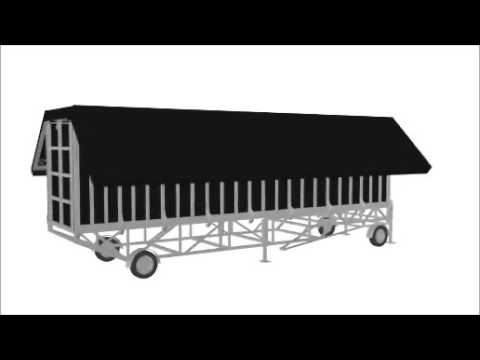 60 Sqm Mobile Trailer Stage Hire - From Event Equipment Hire
