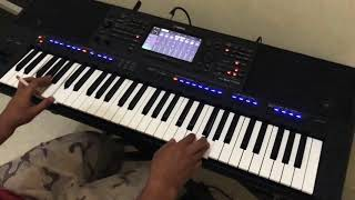 Tehnik strings di keyboard
