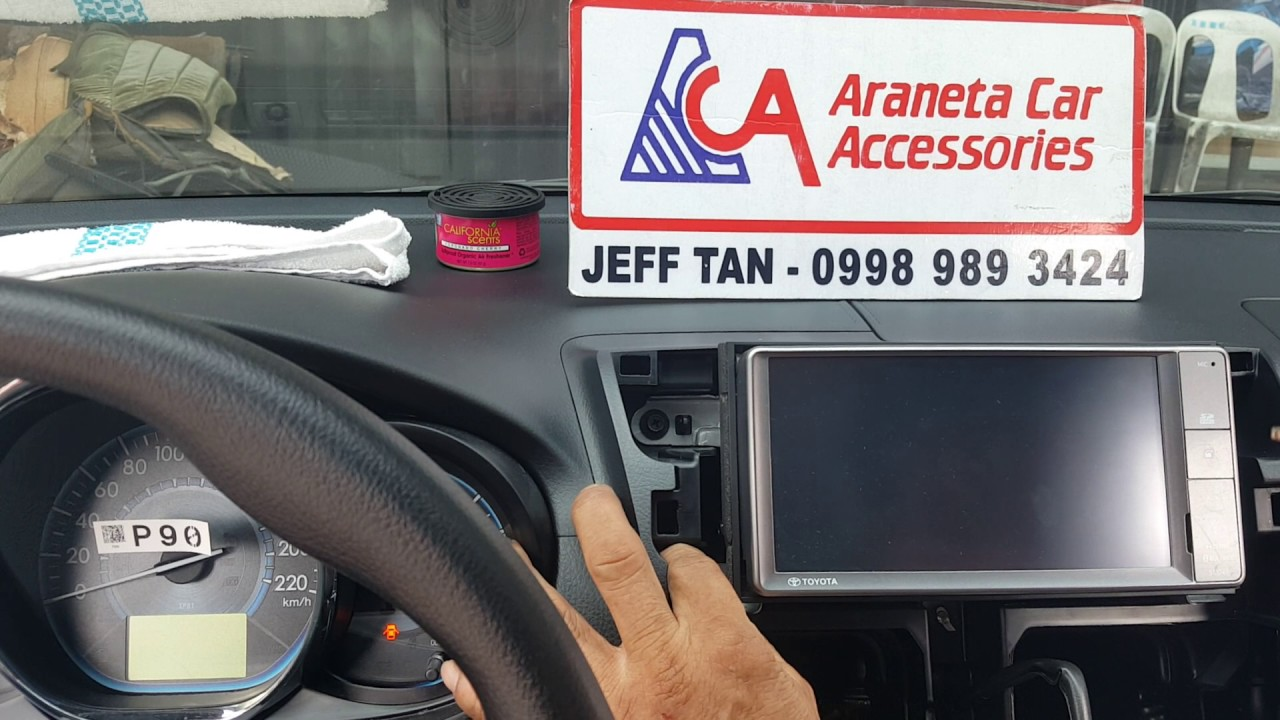 hight resolution of aca toyota vios stereo panel removal