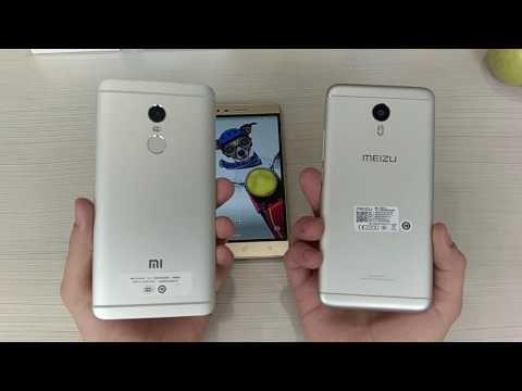 Сравнение Xiaomi Note, Meizu M3 Note и Lenovo K5