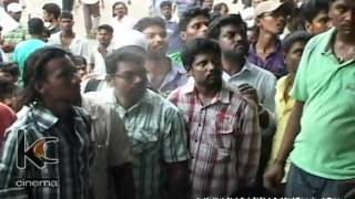Vijay Fans at Devi Cinemas