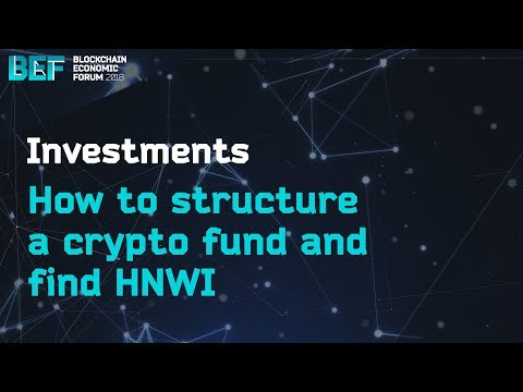 How to structure a crypto fund and find HNWI