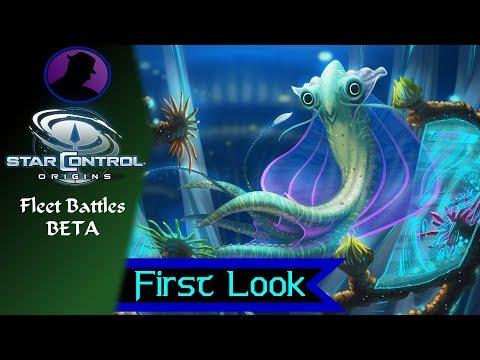 First Look - Star Control Origins - Fleet Battles Beta Gameplay!