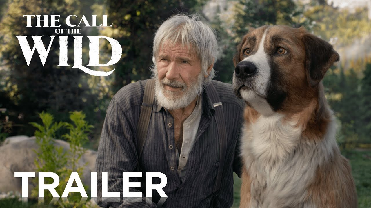 The Call of the Wild trailer met Harrison Ford