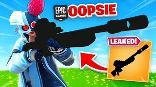 Epic *ACCIDENTALLY* Added This SNIPER EARLY!