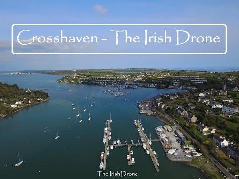 Crosshaven Harbour - Cork - The Irish Drone