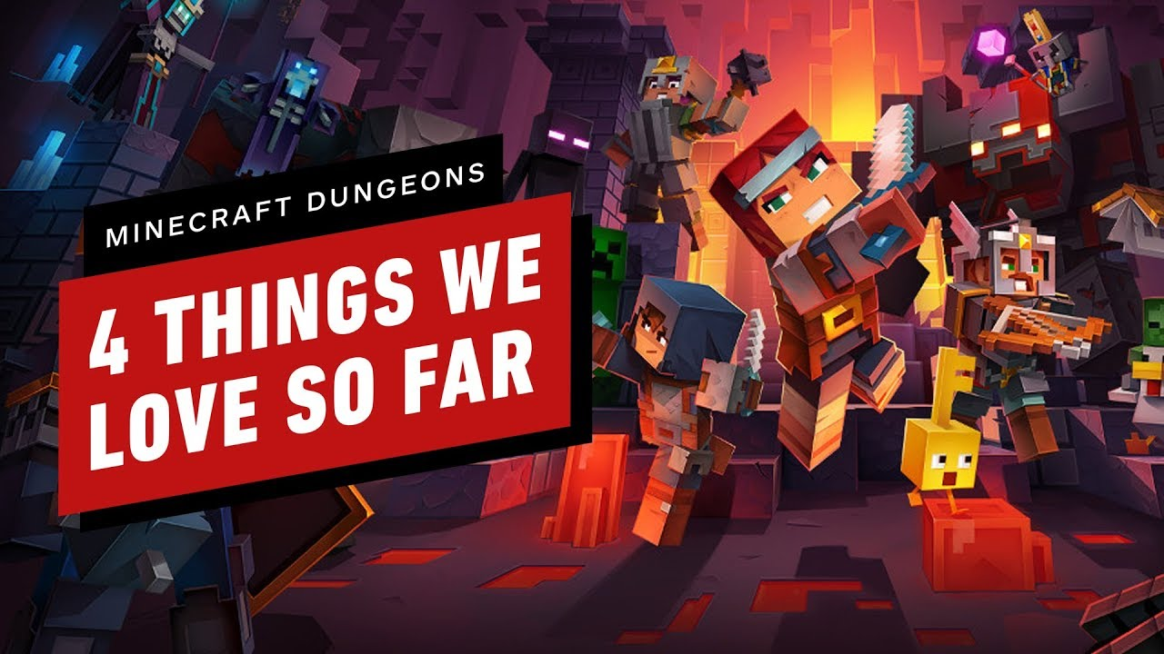 Minecraft Dungeons Review - IGN