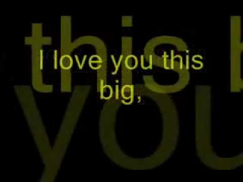 Scotty McCreery- I Love You This Big Lyrics