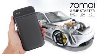 Xiaomi 70mai Jump Starter - пусковое устройство для автомобиля Обзор и Тест