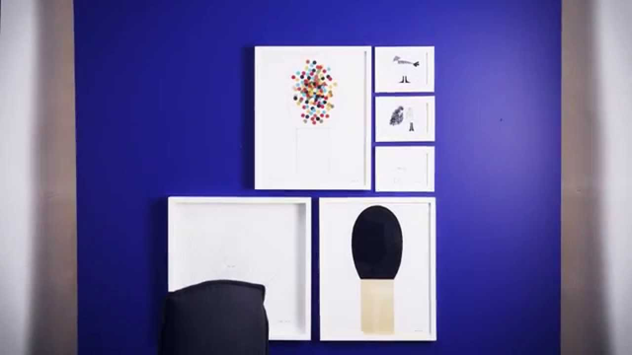 IKEA Handyman How To: How to hang a picture - YouTube