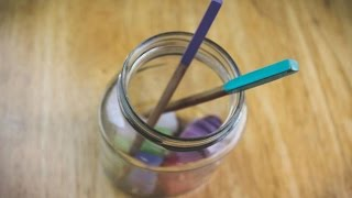 How To Make Your Own Hair Sticks - DIY  Tutorial - Guidecentral