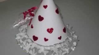 How to make a fairytale princess hat - EP - simplekidscrafts