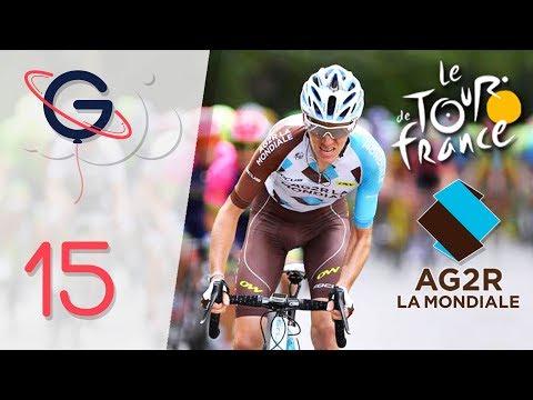 TOUR DE FRANCE 2017   AG2R La Mondiale   Etape 15 : Laissac-Sévérac l'Eglise › Le Puy-en-Velay