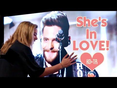 SHE'S IN LOVE!