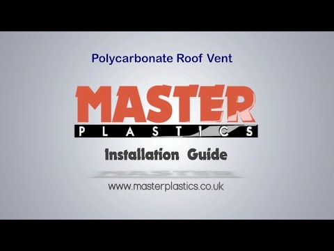 Polycarbonate Roof Vent Installation Guide