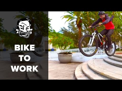 Commuting by Mountain Bike