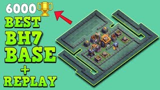 BUILDER HALL 7 (BH7) BASE STRONGEST ANTI 1 STAR w/PROOF | ANTI ALL TROOP | CLASH OF CLANS