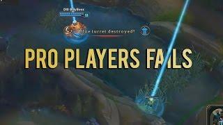 Pro Players Fails Montage | Vol.3 (League of Legends)