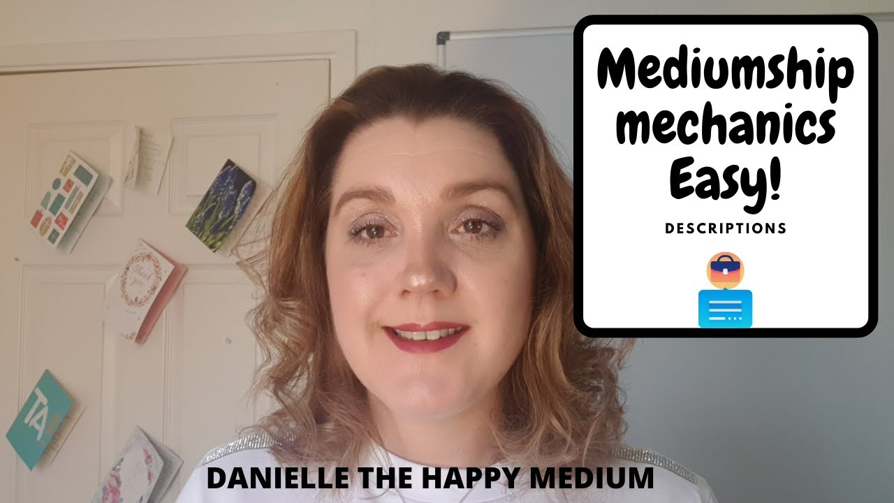 Descriptions in Mediumship Development & Mediumship Training.