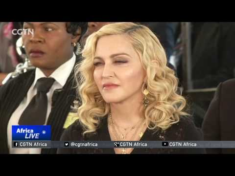Pop star Madonna opens children's hospital in Malawi